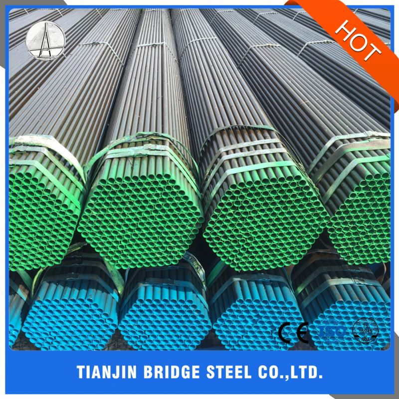 Q195 High Quality Manufacturer Longitude Welded Black Steel Pipe