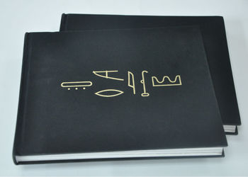luxury emboss coffee table book printing with slipcase jhp-cob-302
