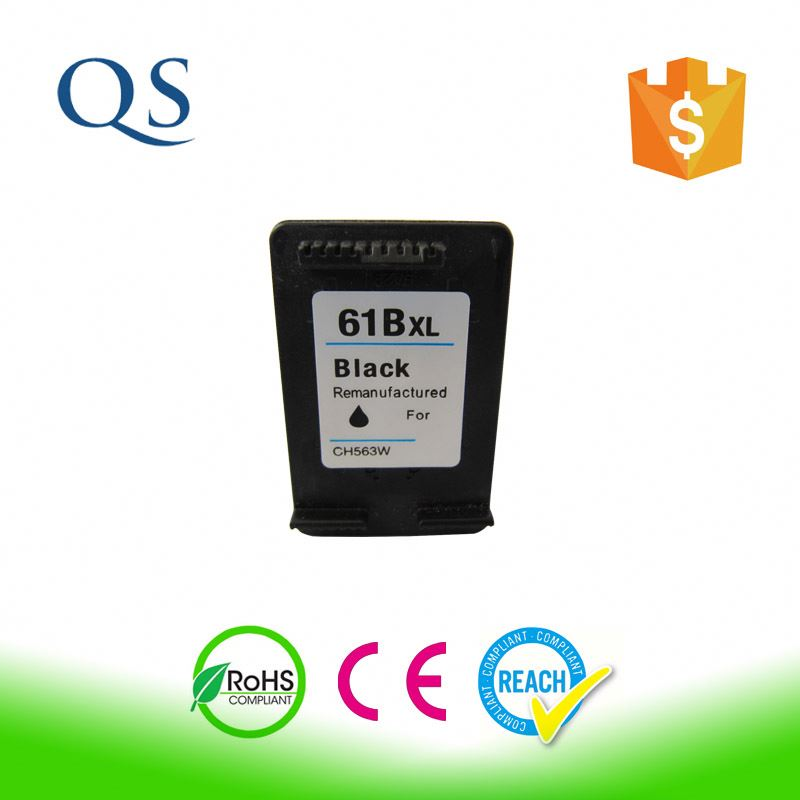 Hot high quality original printer ink cartridge for hp 61 black and color cartridge