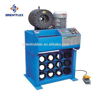 Cost-effective 2 inch quality brake hose crimping machine RT-91H-6 suppliers