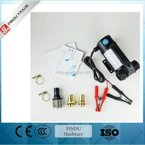 12v 24v portable electric oil pump for car