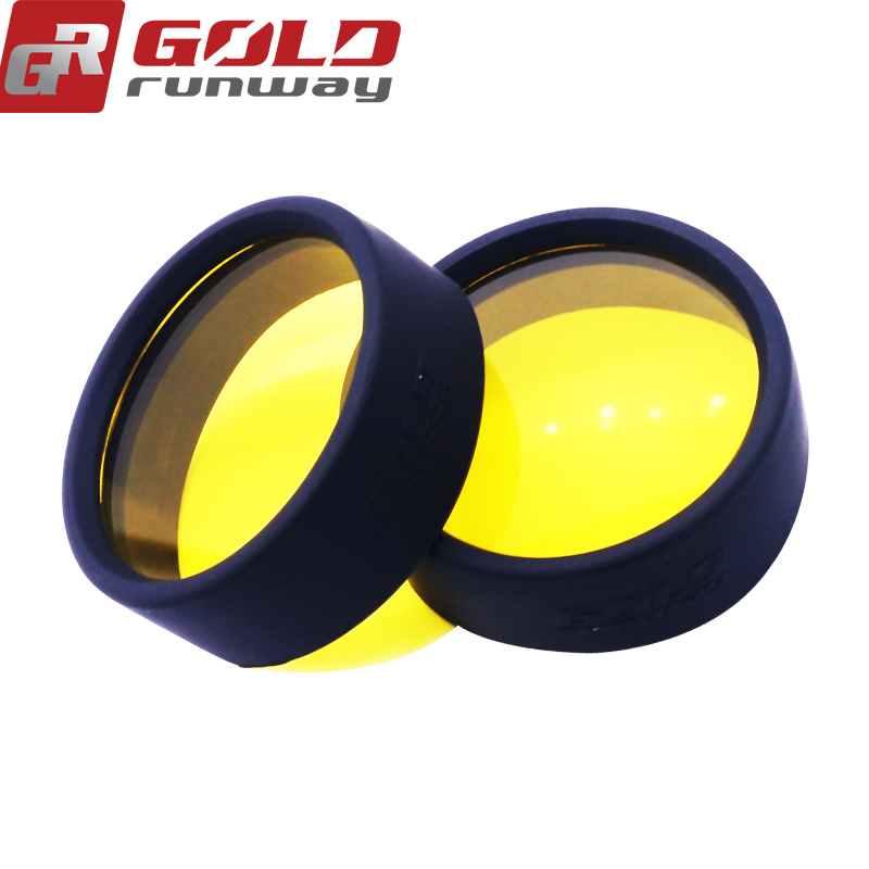 GOLD RUNWAY ADV4 Waterproof auto LED motorcycle driving spot light 32W 12 V for motor cycle headlight high beam