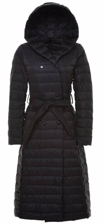 xtsrkbg Mens Winter Solid Lightweight Padded Down Hooded Puffer Coats