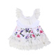 2018New Design Fashion Cotton Baby Girl Print Cheap Girls Summer Summer Cotton Baby Girls Children Party Wear Dresses Factory