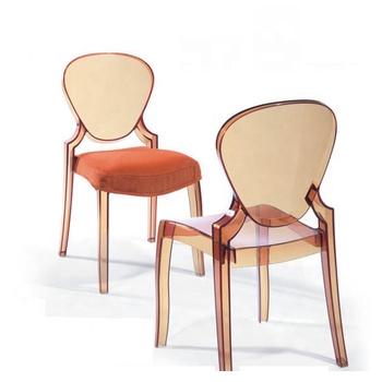 Conception Igloo Chaise Chaises En Acrylique Transparent Avec Coussin