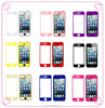 color tempered glass screen protectors for iPhone 5,5s,5c,6,6s, color screen protector
