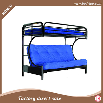 Modern Metal Folding Double Deck Sofa Bed For Y