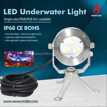 Low Voltage 9w Portable Underwater Swimming Pool Led Light Outdoor Waterproof Garden Recessed