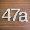 Stainless Steel House Numbers and Letters For Hotel / Room / Apartment / Office