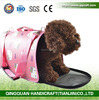 Factory Wholesale Folding Portable Custom Sturdy Bag Pet Carrier Outdoor Cat Travel Bag And Accessaries