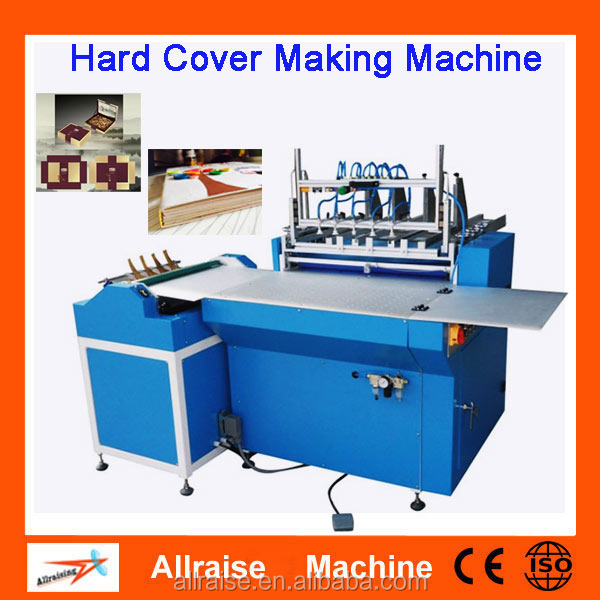 Semi Auto Book Case Making Machine Hard Cover Making Machine For Notebook