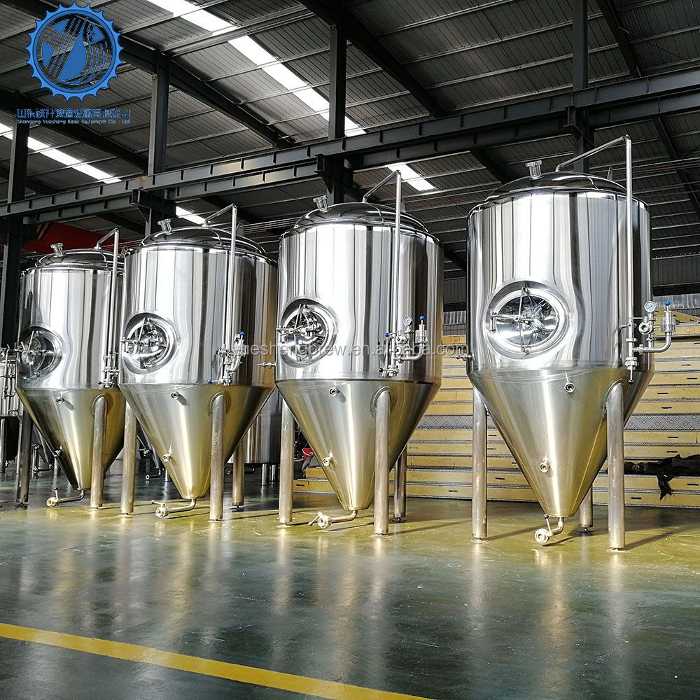 100L- 3000L stainless steel jacket the price fermentation/fermenter tank