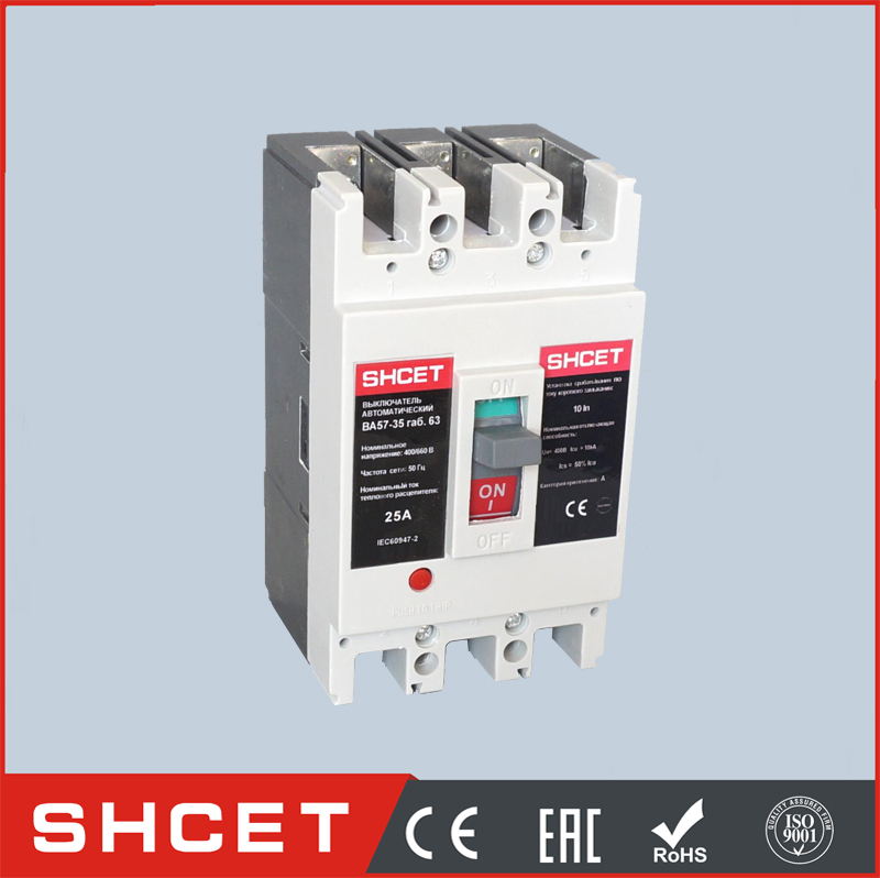 SHCET CTM1-225L 100A to 200A mccb circuit breaker moulded case circuit breaker