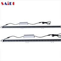white indoor led grow light bar for aquarium plant seed kit hydroponic system strawberry strips water proof