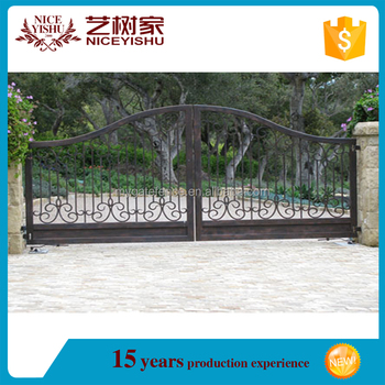 Main Gate Designs/wrought Iron Double Leaf Door/Metal Stair Gate Pet Gate  Easy
