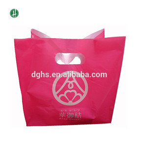 Multicolor Series EPI Biodegradable Die Cut Handle Bags Make In Dongguan