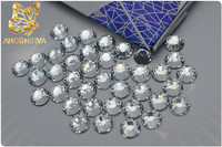 New products innovation falt back crystal color hotfix rhinestone for latest fashion dresses