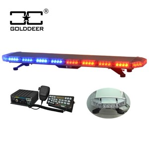 Truck Car Amber emergency New led strobe light with siren TBD20926