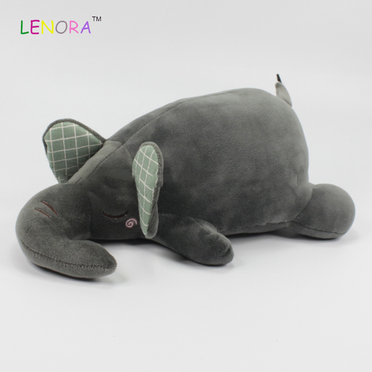 Factory direct sale strong packing baby OEM plush reasonable price soft sleeping animal plush toy elephant stuffed toy for kids