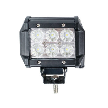 4x4 vehicles offroad SUV ATV 4inch 18W Crees LED driving light led work lamp manufacturer