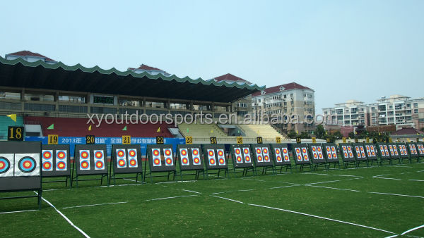 Durable XPE Foam Competition Archery Target, High Quality 9 Blocks Shooting Target,129*129*20cm Outdoor Shooting Equipment
