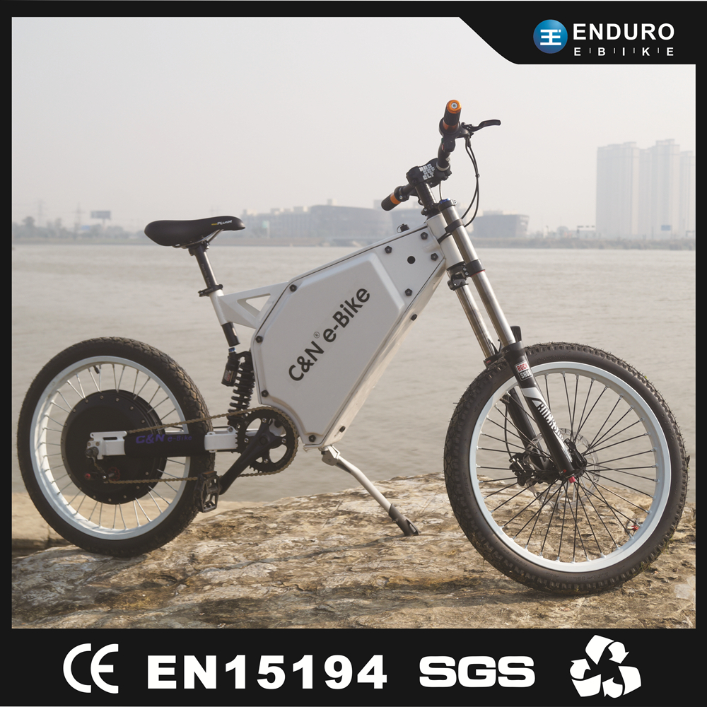 2017 Factory price 72v 8000w Motorcycle Ebike mountain electric bike