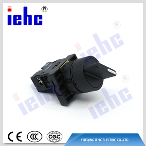 high quality XB2(LAY5) series 2 position 22mm self-locking rotary selector push button switch