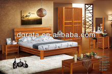 2012 popular design bedroom furniture suits that is uesd solid wood and MDF board to finished for the family furniture