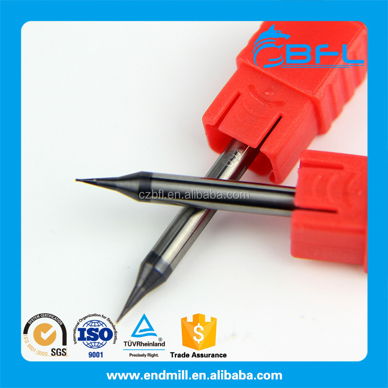 BFL Tungsten Carbide 0.5mm Endmill Cutting Tools