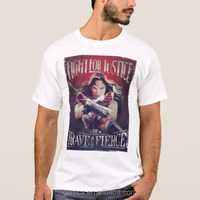 the wonder lady t shirt of the latest design in guangzhou