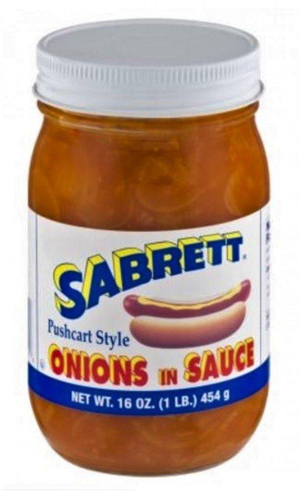 Sabrett Onions in Sauce 16 Oz. (2 Pack)