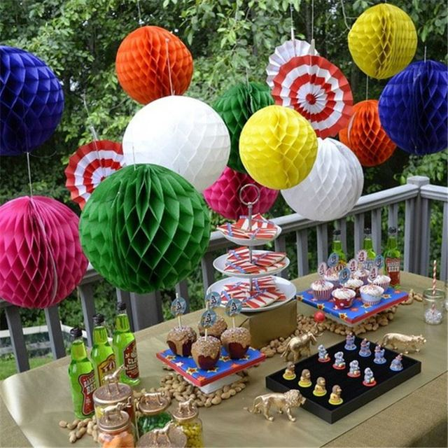 Fashion Design High End Beautiful Party Decoration Paper Honeycomb Ball