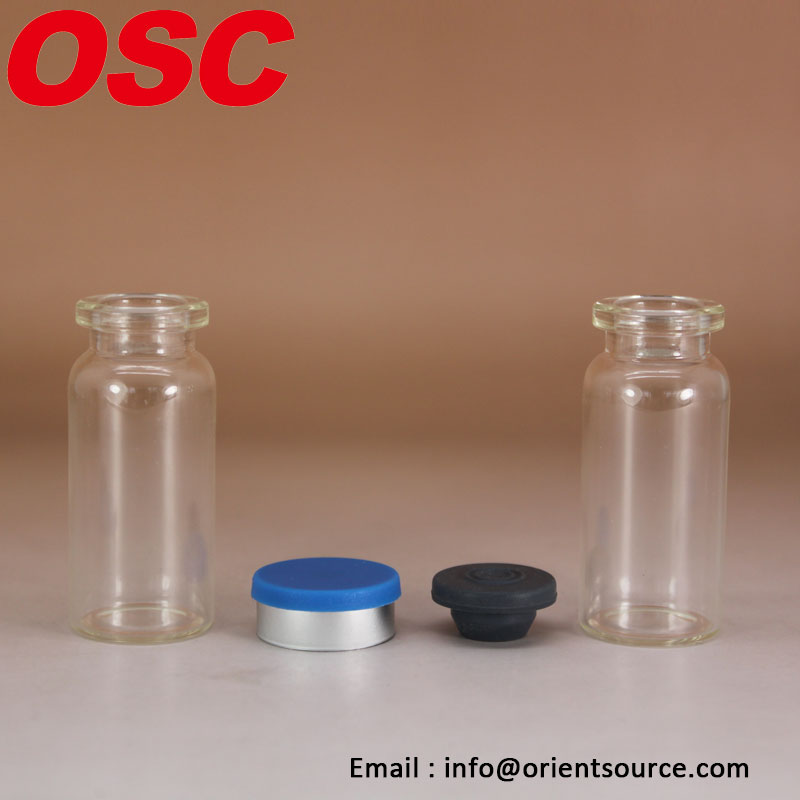 Quality 5ml 20ml 10ml glass vial for steroids 10 ml clear glass injectable bottle