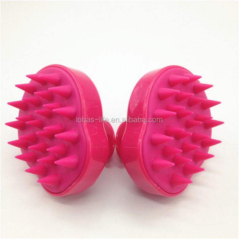 Hair Removal Dog Deshedding Silicone Brush Kits For Grooming