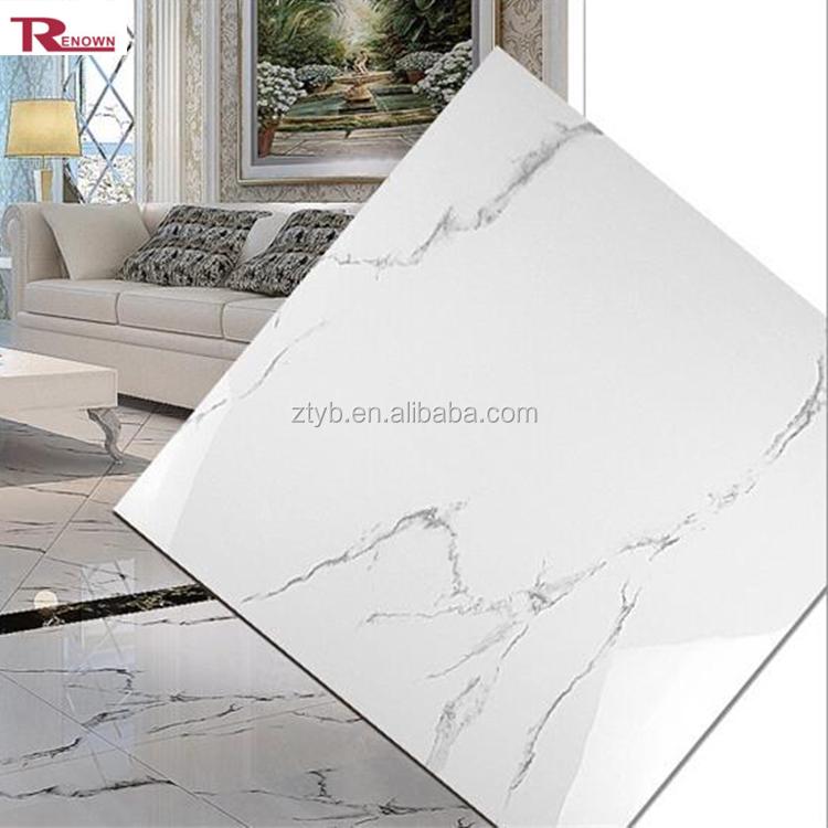 White Marble House Ceramic Floor Tile