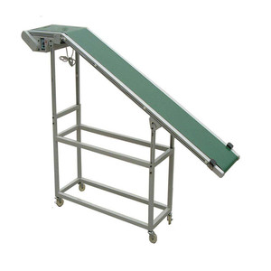 Shengyue Heat resistant beverage industry pvc/pu rubber belt straight running lift conveyor