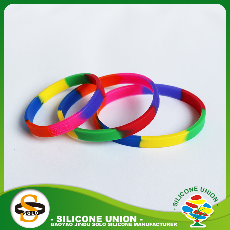 Silica gel hotest silicone wristbands for music party to activity