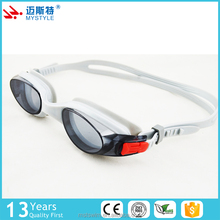 China factory price simple design clear lens adult myopia swimming goggles