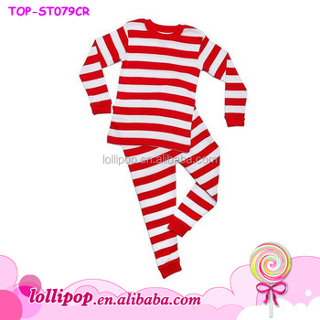 93c53b3178 Wholesale 2016 Unique Baby Boys And Girl Names Red Striped Long Sleeve Cute  Pajamas Sets Boutique Children Autumn - Buy Infant Girl Christmas