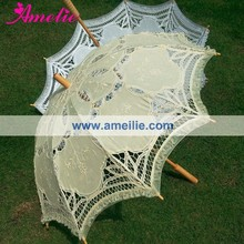 Battenburg Kanten Parasol Wedding Favor