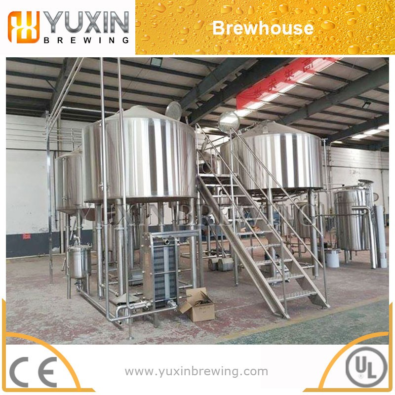 10000l large capacity beer brewing equipment with whole mash system and fermenters