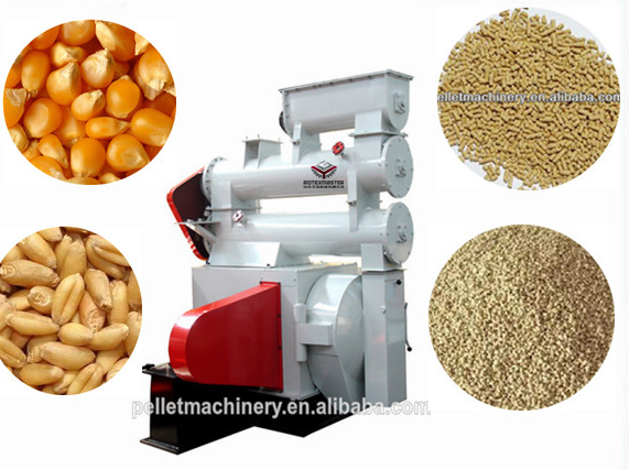 Poultry Farm Needed Chicken Feed Pellet Mill