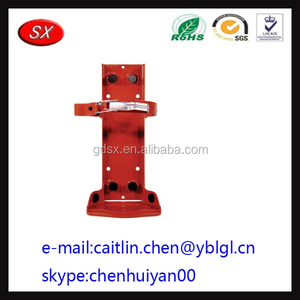 Chinese Manufacturer Custom fire extinguisher bracket and fire extinguisher support
