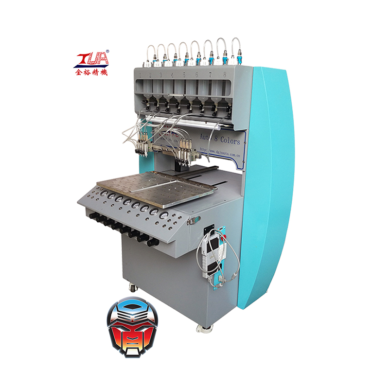 jinyu automatic clothes pvc label dripping machine