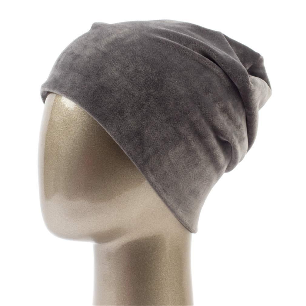 34fc74b29f1c6 Get Quotations · STARSTARTS Women s Hat Casual Polyester Beanies for Women  Winter Velvet Plain