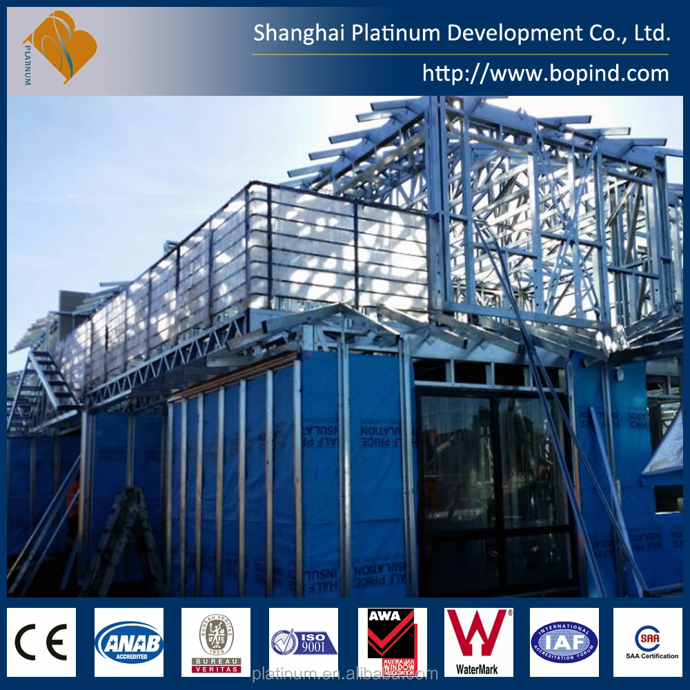 light steel frame house plans with Australian standard