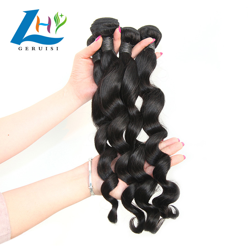 Superior Quality Original Brazilian Remy Human Hair Stretch Loose Wave Crochet Braids
