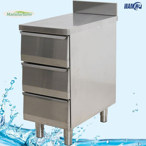 Commercial Stainless Steel Storage Cabinet With Drawers/Restaurant  Stainless Steel Storage Drawers Cabinet/Cashier