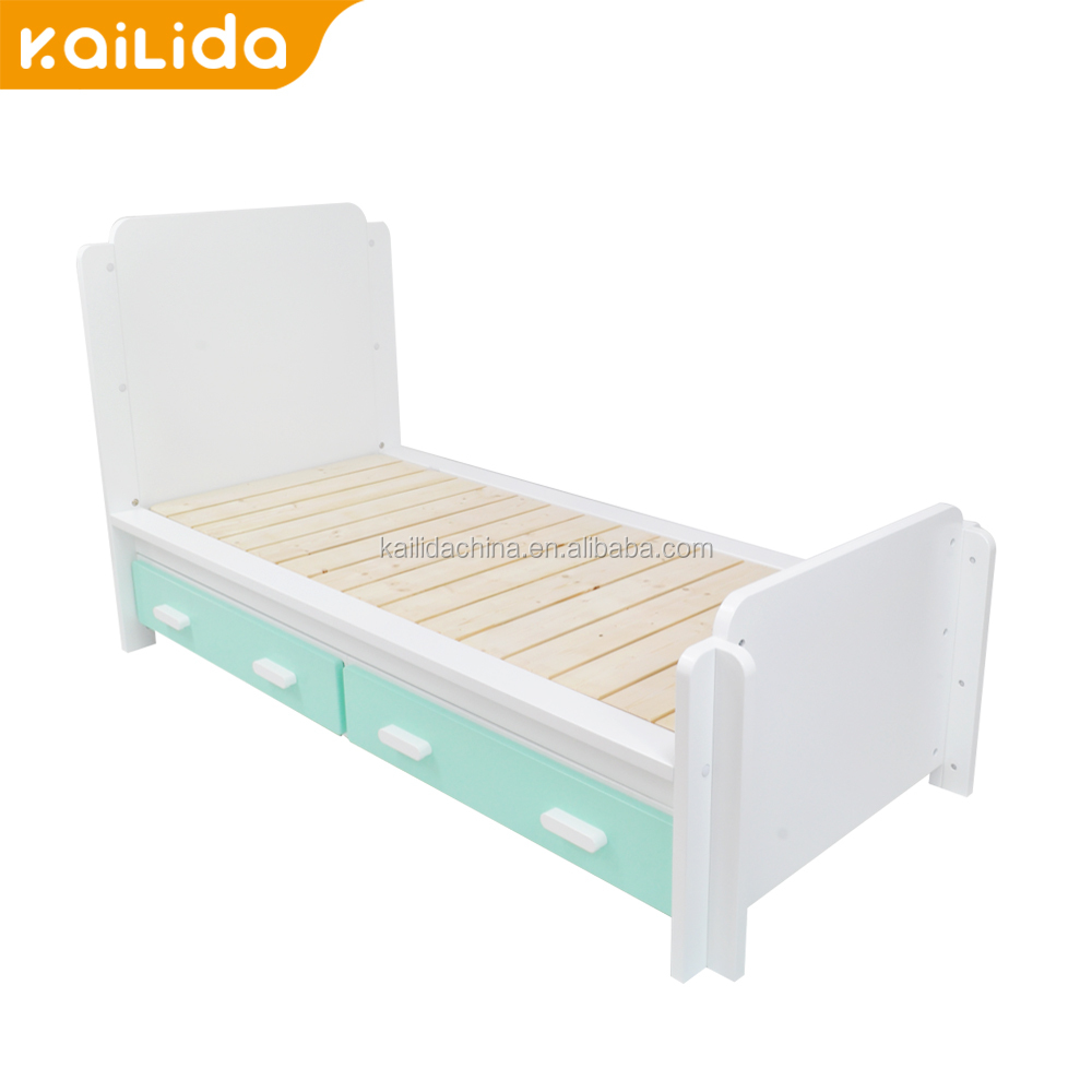 Hot Sale powder coating super king size bed cheap solid wood furniture elegant kids bedroom sets For XC-MG Spare Parts