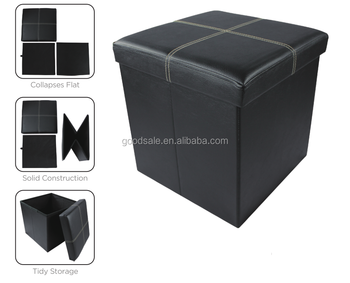 Fine Cheap Price Square Folding Shoe Storage Ottoman Black Leather Pouffe Stool Buy Pouffe Storage Pouffe Storage Ottoman For Shoes Product On Unemploymentrelief Wooden Chair Designs For Living Room Unemploymentrelieforg